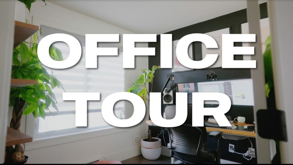 Ultimate Content Creator Workspace – Office + Equipment Tour!